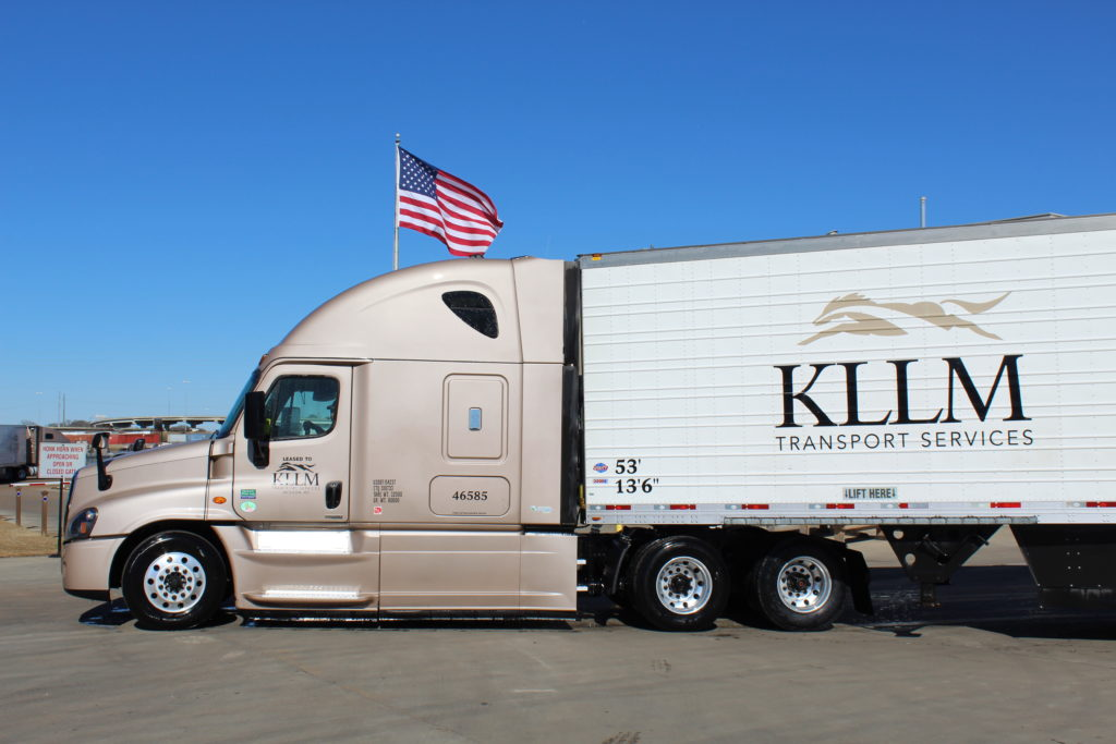 KLLM Truck after use of Tunnel Wash